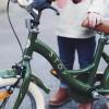"Bicicleta 14"" Vintage - Verde Army - STOY"