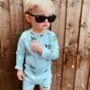 Costum de baie cu protectie UV 50+ pentru bebelusi - Whale Fin - KULING