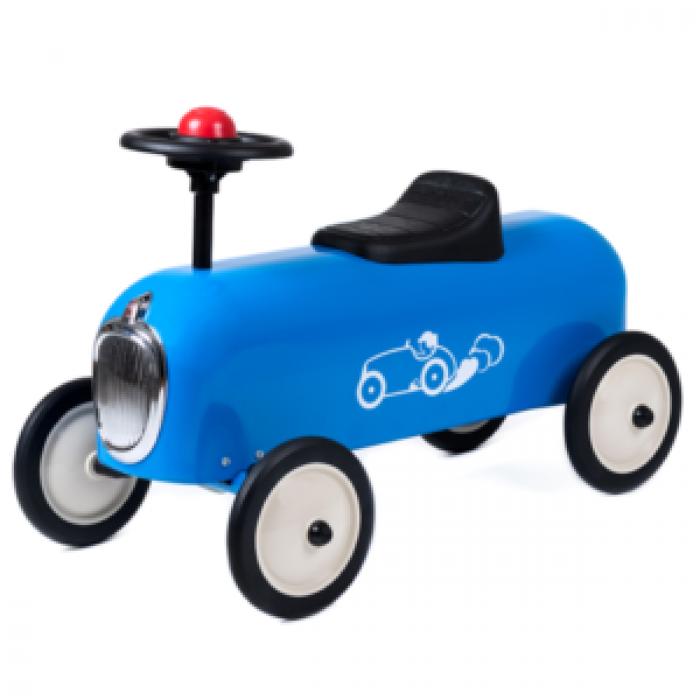 Masinuta Ride-On pentru 1-3 ani - Racer Albastru - Baghera