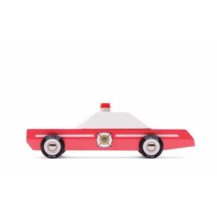 Masina retro Firechief - Candylab Toys USA