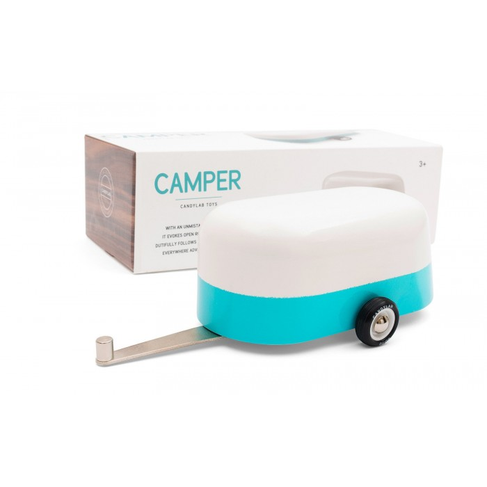 Remorca Auto Blue Camper - Candylab Toys USA