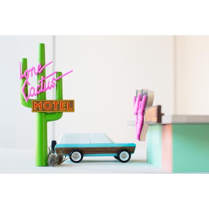 Masina de teren vintage Pioneer Classic - Candylab Toys USA