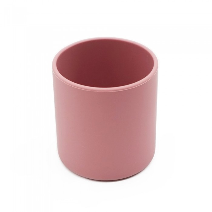 Pahar din silicon - Dusty Rose