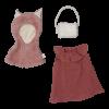 Set de accesorii pentru papusi - Capa de Vulpe - Fabelab