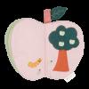 Carte senzoriala din bumbac organic pentru bebelusi - Mar - Fabelab