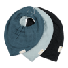 Baveta bandana din bumbac organic - set 3 bucati - Moon Beam - Fabelab