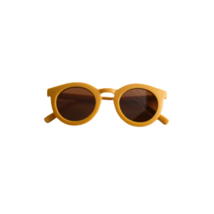 Ochelari de soare pentru copii cu lentile polarizate - Golden - Grech & Co