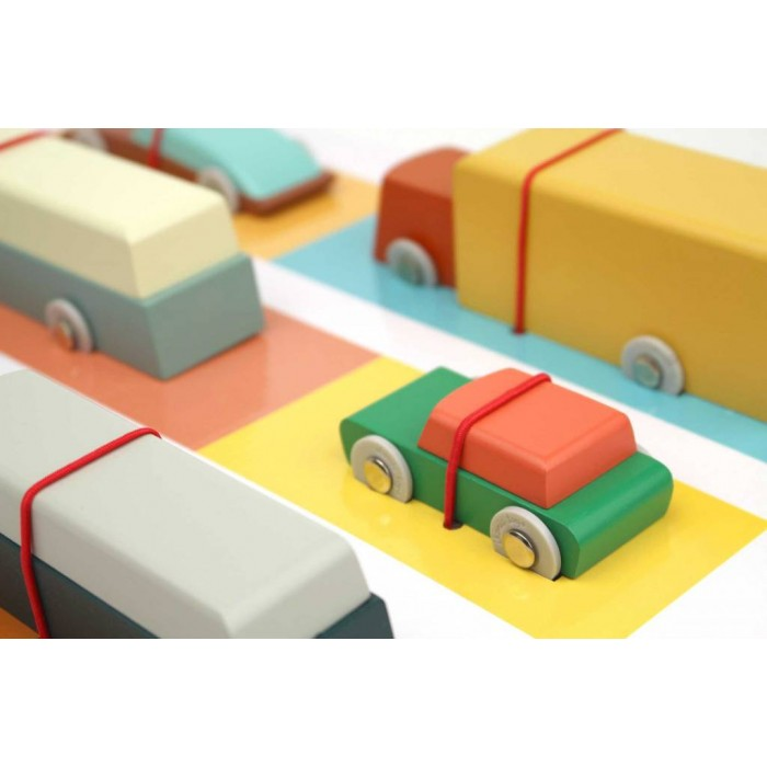 Floris Hovers Duotone Car - set complet toata linia - Ikonic Toys