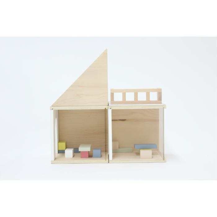 Casuta modulara de papusi cu mobilier - Uchi - kiko+and gg*