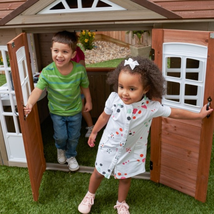 Casuta pentru curte Country Vista Playhouse – KidKraft
