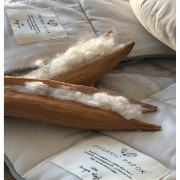 Pilota din fibra de Kapok organic - 100 x 70 cm - Konges Sløjd