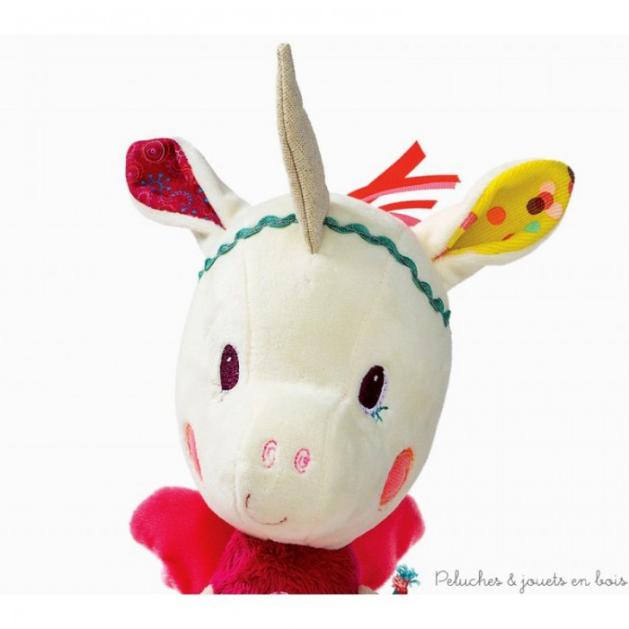 Jucarie din plus interactiva - unicornul Louise - Lilliputiens