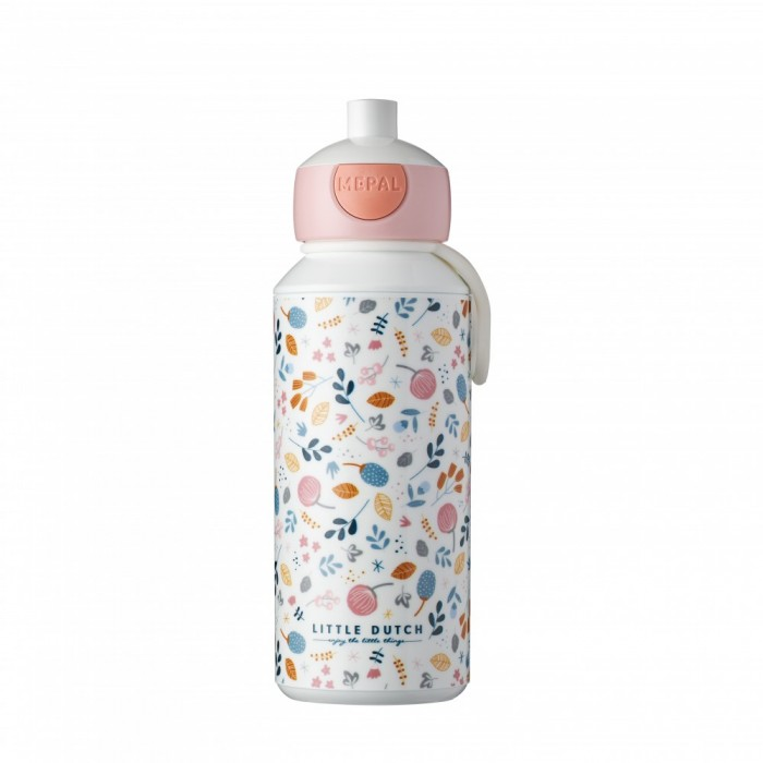 Sticla cu pop-up - 400 ml - Spring Flowers - Little Dutch