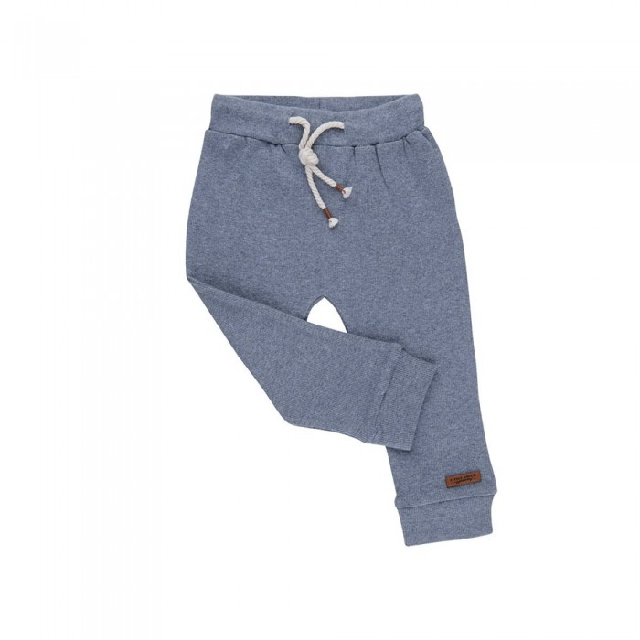Pantaloni - Blue Melange - Little Dutch