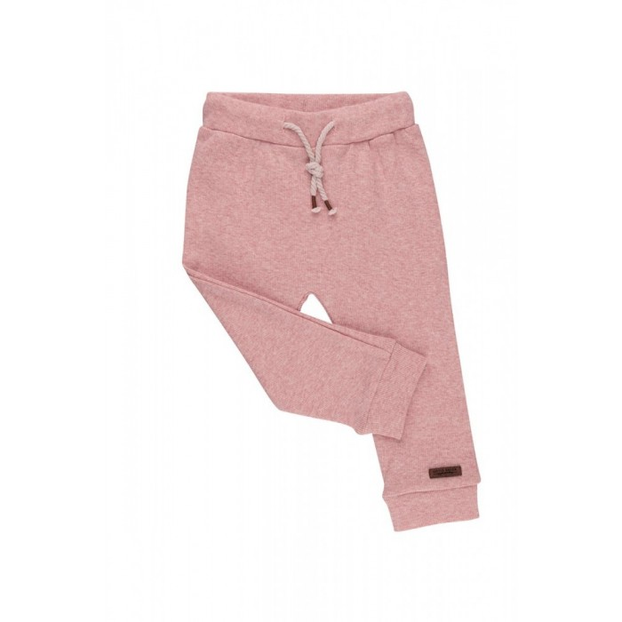 Pantaloni - 68 - Pink Melange - Little Dutch