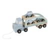 Camion cu platforma cu masinute - Little Dutch