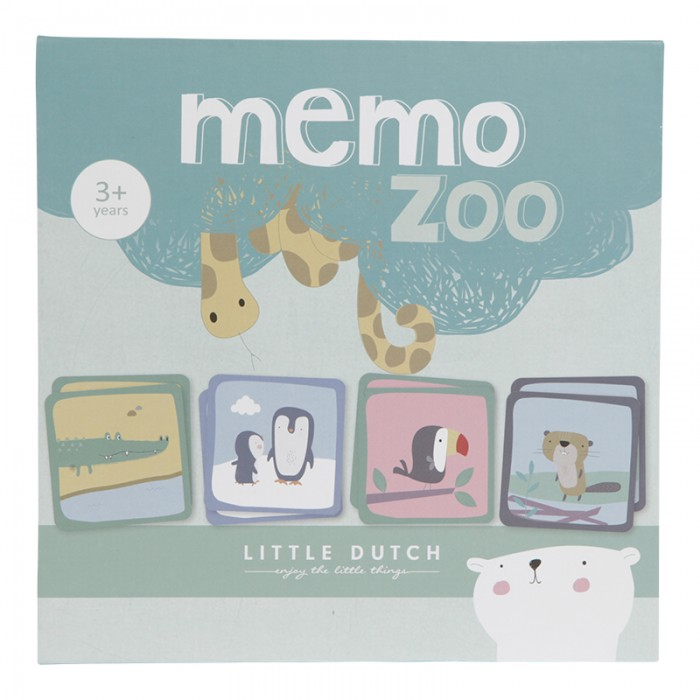 Joc de memorie ZOO - Little Dutch