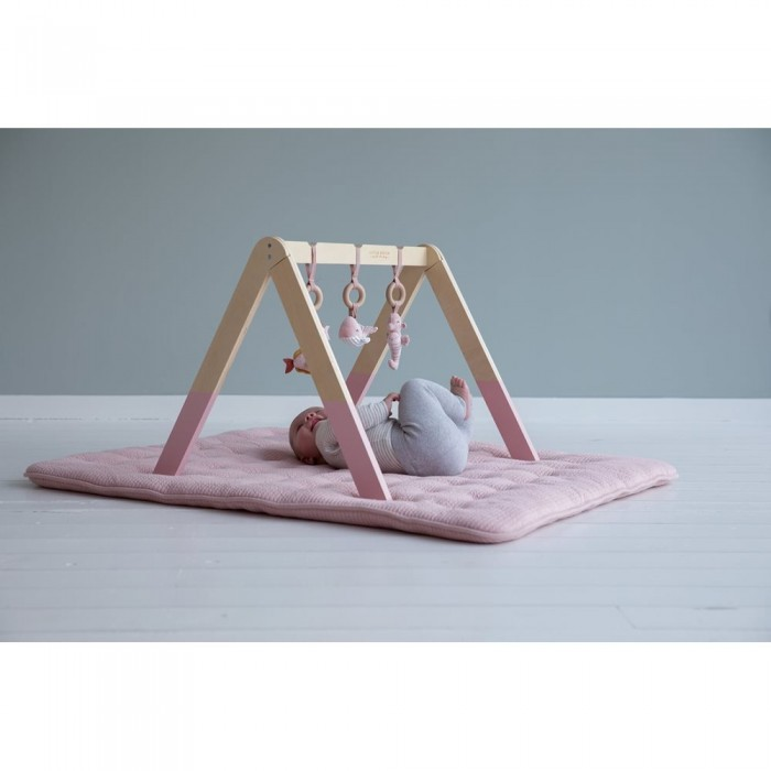 Centru de activitati Baby Gym - Ocean Pink- Little Dutch