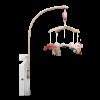 Carusel muzical din lemn - Ocean Pink- Little Dutch