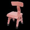 Mobilier pentru camera copilului - Scaun din lemn - Roz - Little Dutch