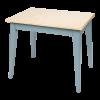 Mobilier pentru camera copilului - Masuta din lemn - Albastru - Little Dutch