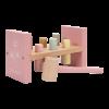Jucarie din lemn cu cilindri si ciocan - Wild Flowers - Little Dutch