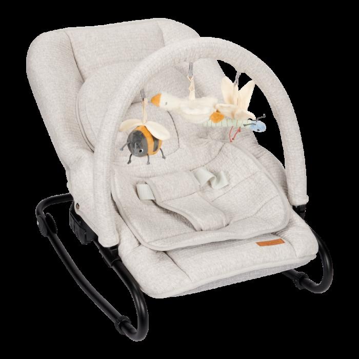 Balansoar pentru bebelusi - Gri - Little Goose - Little Dutch