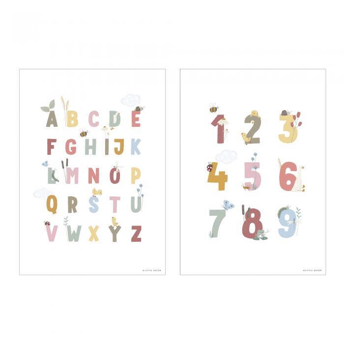 Poster A3 - Little Goose ABC - Roz - Little Dutch