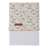 Cearsaf din bumbac - 110 x 140 cm - Spring Flowers - Little Dutch