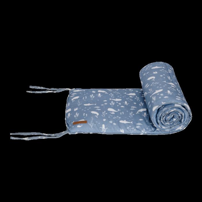 Protectie pentru patut - Ocean Blue - Little Dutch