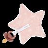Suport pentru suzeta - steluta - Wild Flowers Pink - Little Dutch