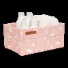 Cos de depozitare din bumbac - Ocean Pink - Little Dutch