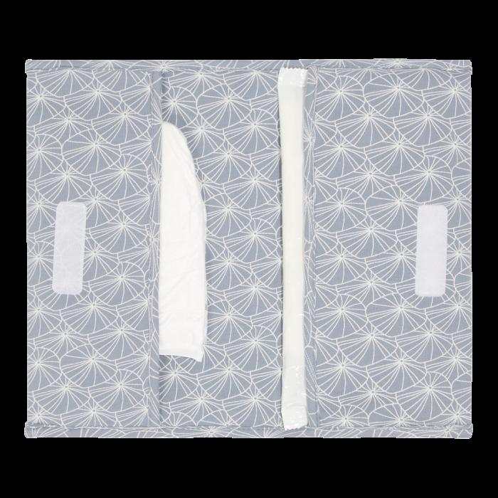 Plic pentru scutece si servetele umede - Lily Leaves Blue - Little Dutch