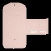 Salteluta portabila pentru schimbat scutece - Lily Leaves Pink - Little Dutch