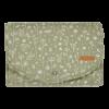 Salteluta portabila pentru schimbat scutece - Wild Flowers Olive - Little Dutch