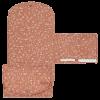 Salteluta portabila pentru schimbat scutece - Wild Flowers Rust - Little Dutch