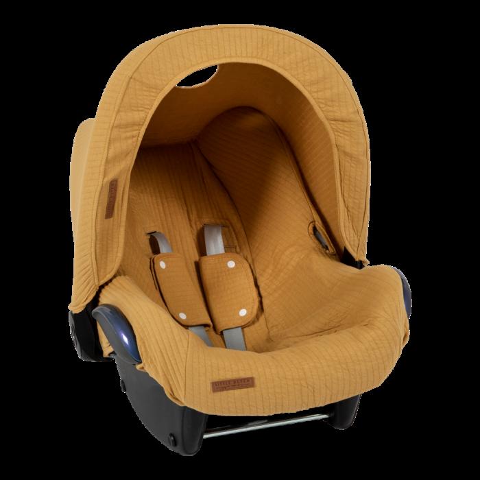 Parasolar pentru scaun auto - Pure Ochre - Little Dutch