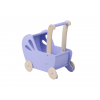 Carucior din lemn pentru papusi - mov - gama LINE - Moover Toys