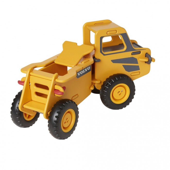 Camion ride-on din lemn - Volvo - Moover Toys
