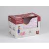 Carucior din lemn pentru papusi - unicorn roz - gama LINE - Moover Toys