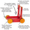 Antemergator/Premergator din lemn cu depozitare - Alb - Moover Toys