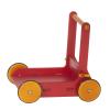 Antemergator/Premergator din lemn cu depozitare - Rosu - Moover Toys