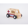 Masinuta din lemn - ambulanta - Moover Toys