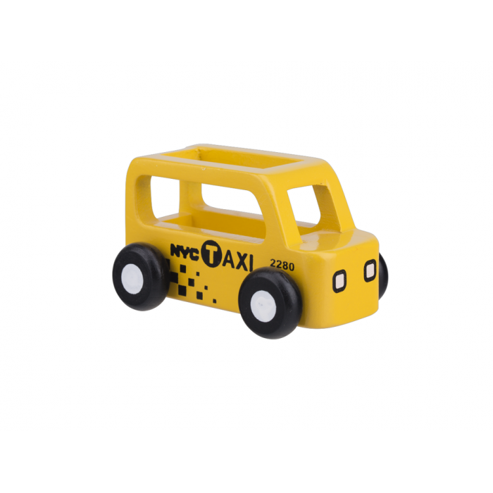 Masinuta din lemn - taxi - Moover Toys