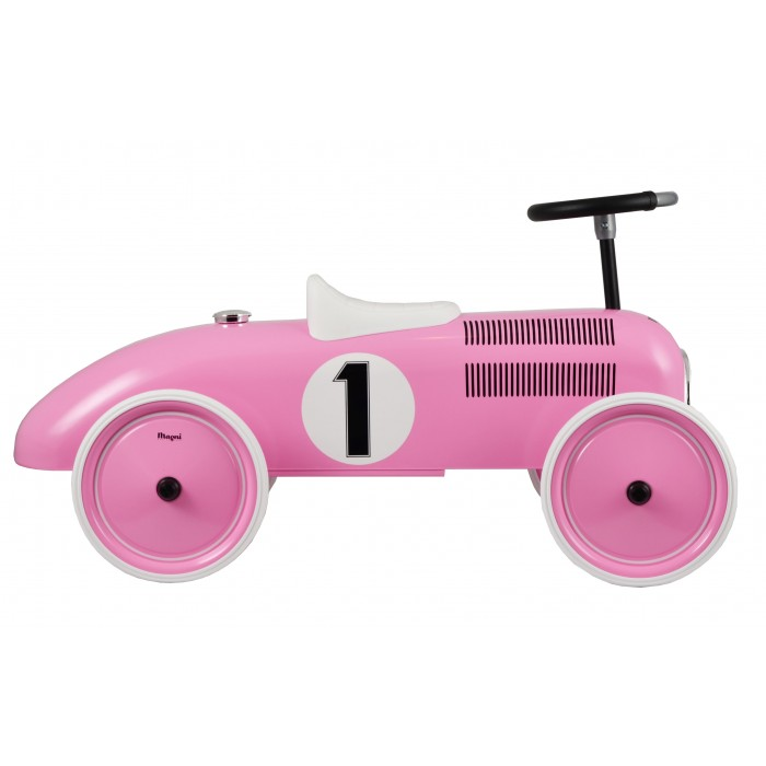 Masinuta ride-on retro - roz - Magni Toys