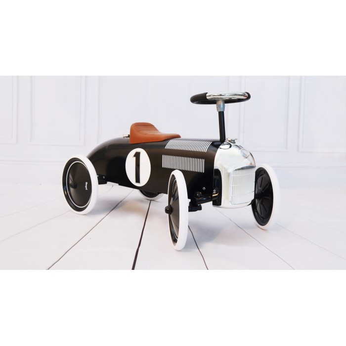 Masinuta ride-on retro - neagra - Magni Toys