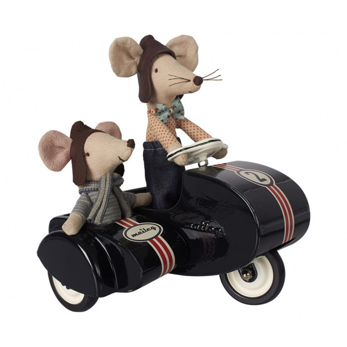 Jucarie textila - RACER MOUSE - BIG BROTHER - Maileg