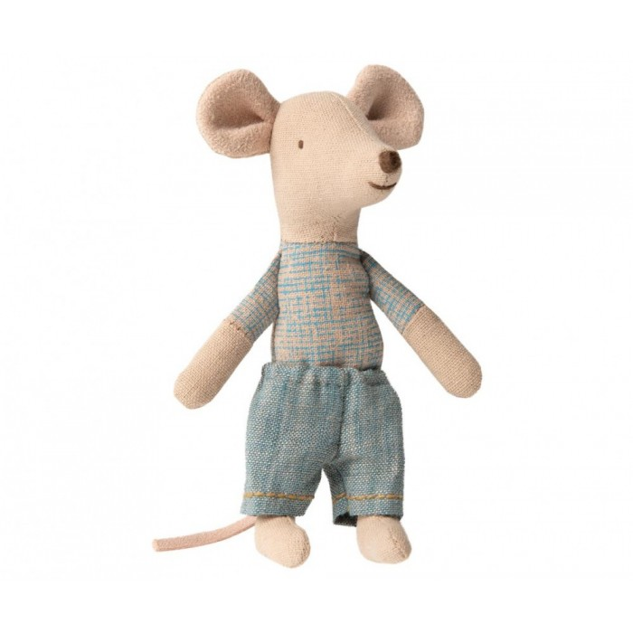 Jucarie textila - MOUSE IN MATCHBOX - LITTLE BROTHER - Maileg