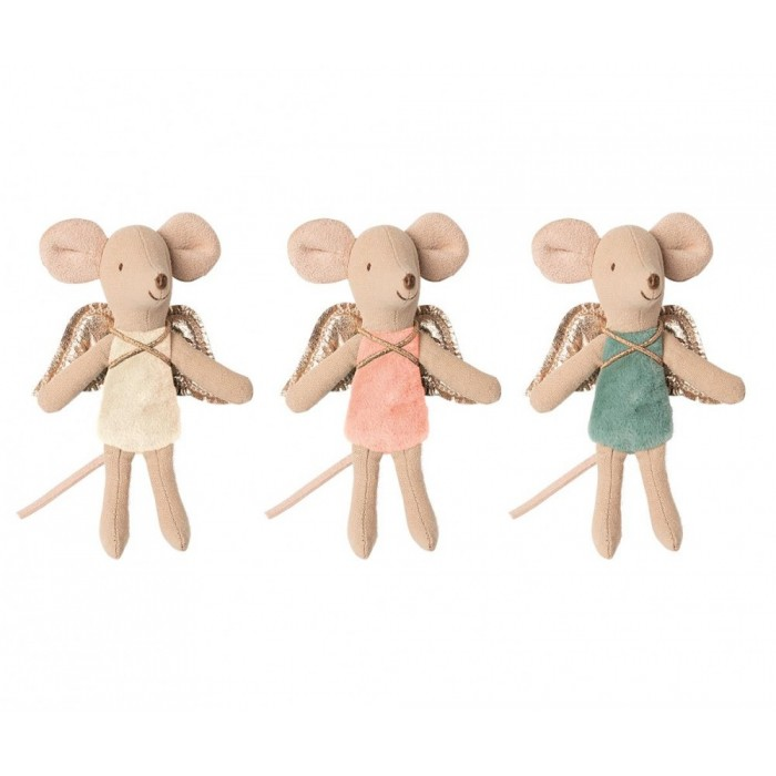 Jucarie textila - FAIRY MOUSE - LITTLE SISTER - Maileg