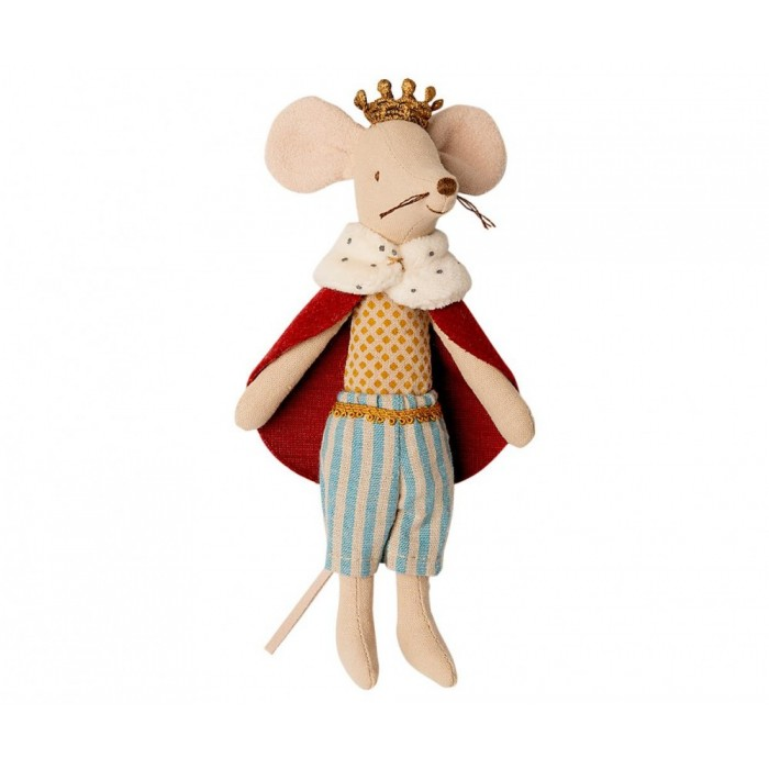 Jucarie textila - KING MOUSE - Maileg